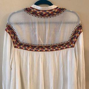 Zara Dresses - Zara Trafaluc Collection Embroidered Dress